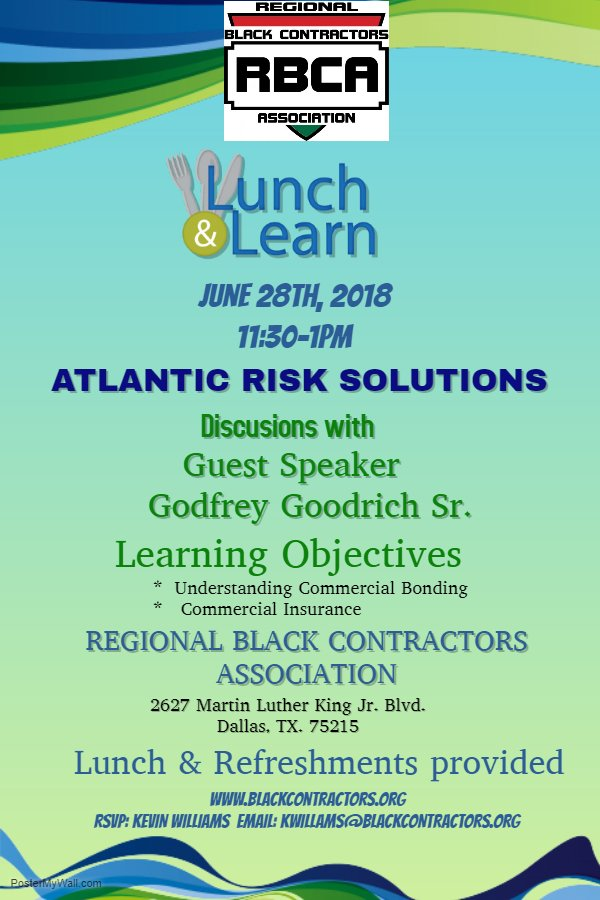 Lunch & Learn 6-28-18 Atlantic Risk Solutions