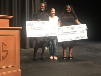 Kiara-Russell-and-Kiara-Kabbara-Webber-Scolarship-recipients